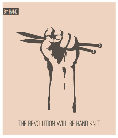 the revolution will be hand knit